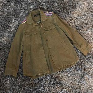 military jacket •